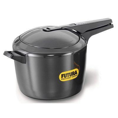 Futura Hard Anodized Pressure Cooker Size: 9.5 Quart