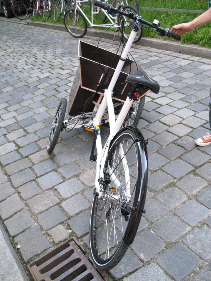 215 best images about fahrrad cargo on pinterest. Black Bedroom Furniture Sets. Home Design Ideas