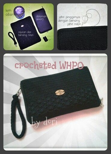 WPHO (wallet handphone organizer). Bring all my needs from card to cellphone... made from Indonesia nilon yarn