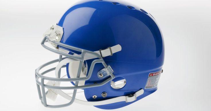 Como fazer um capacete de papel do time de futebol americano New England Patriots