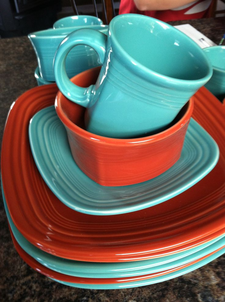 Fiesta ware & 173 best Fiestaware images on Pinterest | Fiesta ware Fiesta ...