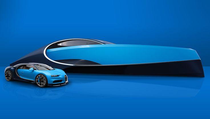 Bugatti and Palmer Johnson Limited Edition Bugatti Niniette 66 Sport Yacht