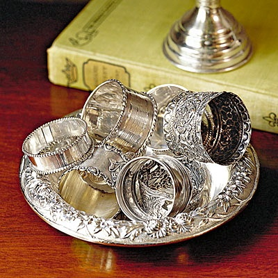 collecting silver napkin rings