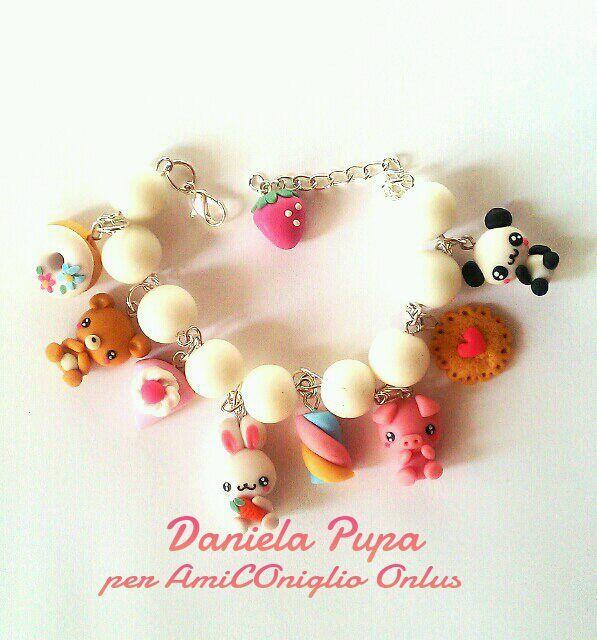 bracelet animaux par daniela pupa (https://it-it.facebook.com/danielapupajewels)