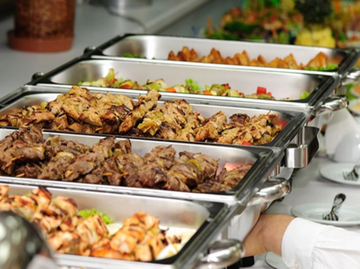 How To Plan A Potluck Wedding Catering MenuCatering IdeasReception