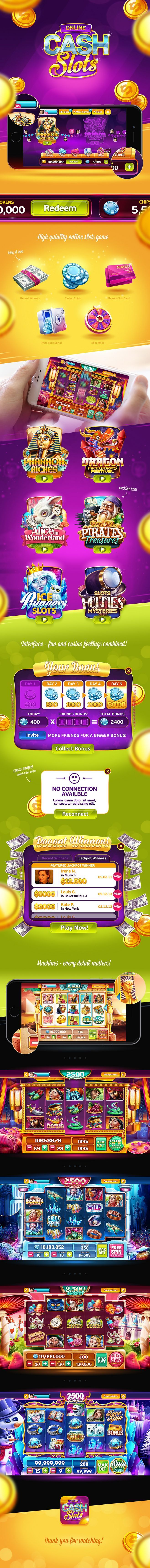 Cash Slots | game ui...: