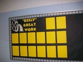 Work Bulletin Board Communications | Fishin' For Proficiency Progress Tracking Display Board