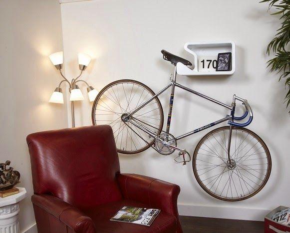 Bem Legaus!: Cabide de bicicleta