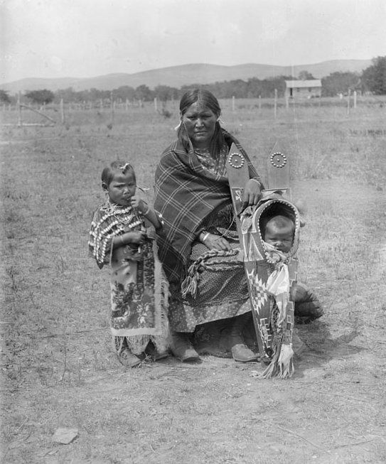 Kiowa Woman and Children 1893 | Tribes of the Indian ...