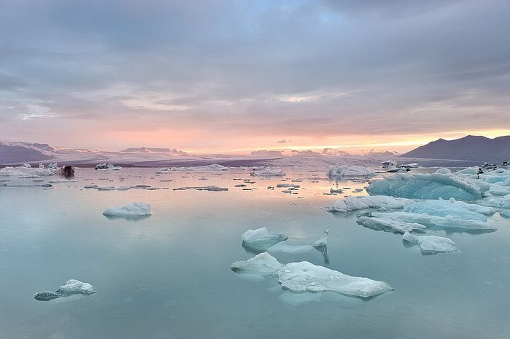 Glacial River Lagoon (Jökulsárlón, Iceland) by Dariusz W