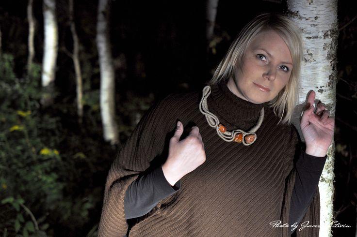 POMARAŃCZOWY WIRAŻ -  Modelka & Make up: Katarzyna Rostkowska Fot.Jacek Litwin