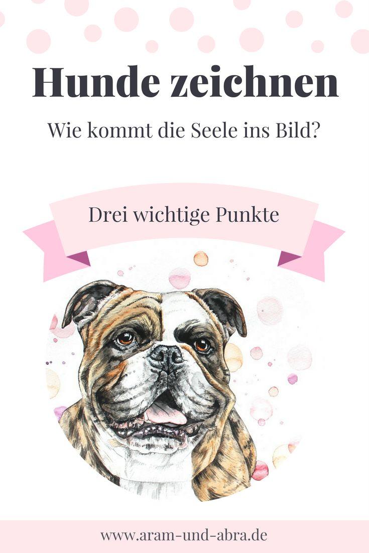 Hunde/Tiere zeichnen - drei Tipps - Anleitung - DIY