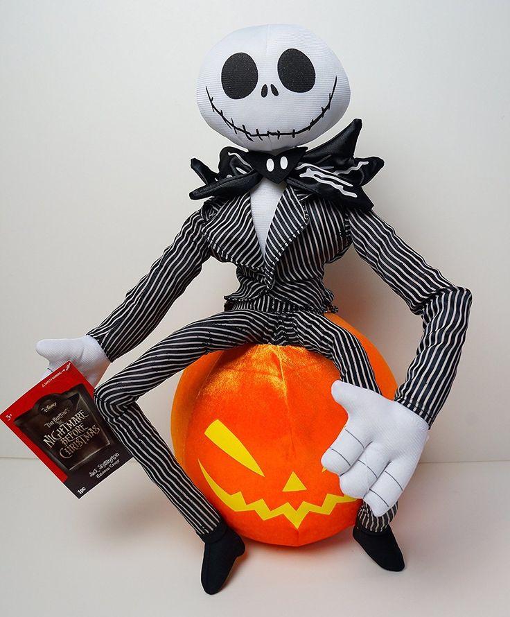 Nightmare Before Christmas Jack Skellington Halloween Greeter ?♀️ Shop here ? https… | Nightmare before christmas. Disney halloween ...
