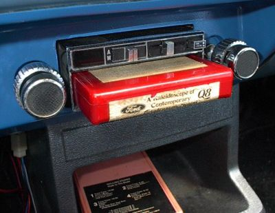 The eight track tape was indestructible. I would throw them into the floorboard of the car, spill pop and beer on them, flick cigarette ashes all over them, then all my friends would stomp on them and then I would pop them in the stereo and they played every time no fail!