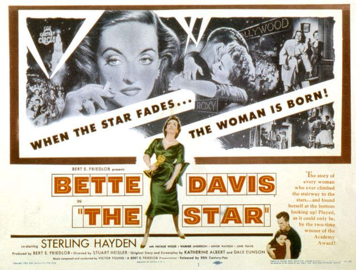 The Star, Bette Davis, Sterling Hayden Photograph
