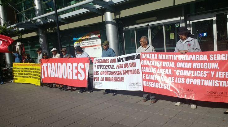 Protestan en Congreso: dirigentes locales de Morena promueven a trapecistas políticos del PAN con las estructuras del partido; dicen | El Puntero