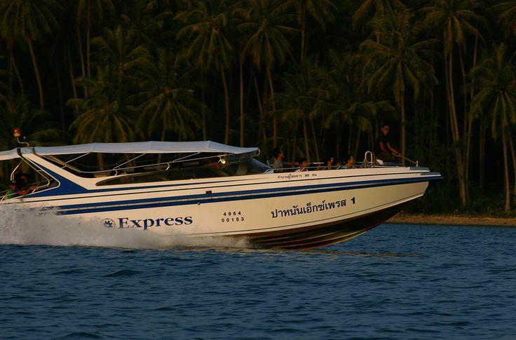 Panan Speedboat depart at 16.00