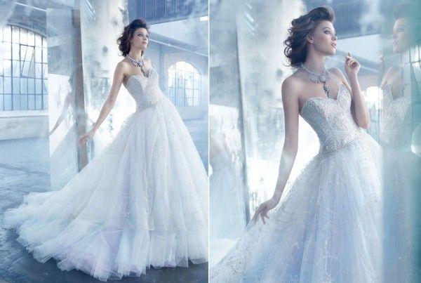 28 best Wedding Dress Lazaro images on Pinterest   Short wedding ...