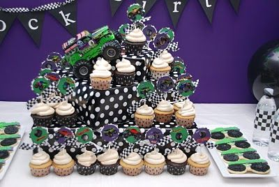 Monster Truck Cake Decorating Supplies