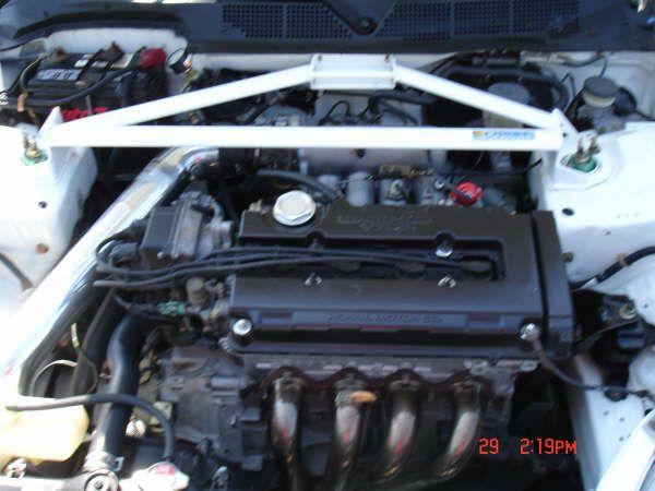 Honda Civic Si Engine 1.6l Vtec #vtec #1.6litre #civic #honda