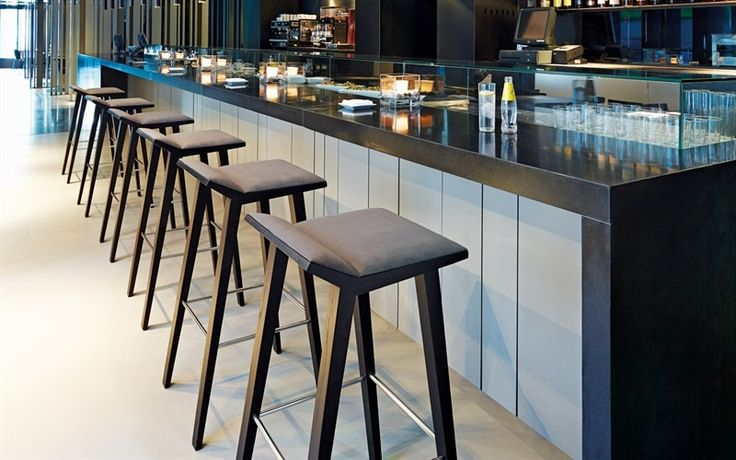 23 best images about ios cafe on pinterest kitchen for Bar madera moderno