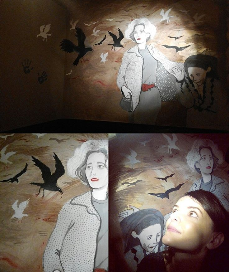 Birds mural