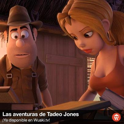 Debido a una fortuita confusión, Tadeo, un albañil soñador, será tomado por un famoso arqueólogo y enviado a una expedición a Perú. http://wktv.co/Whi05e
