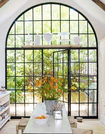 steel glass doore and window combo