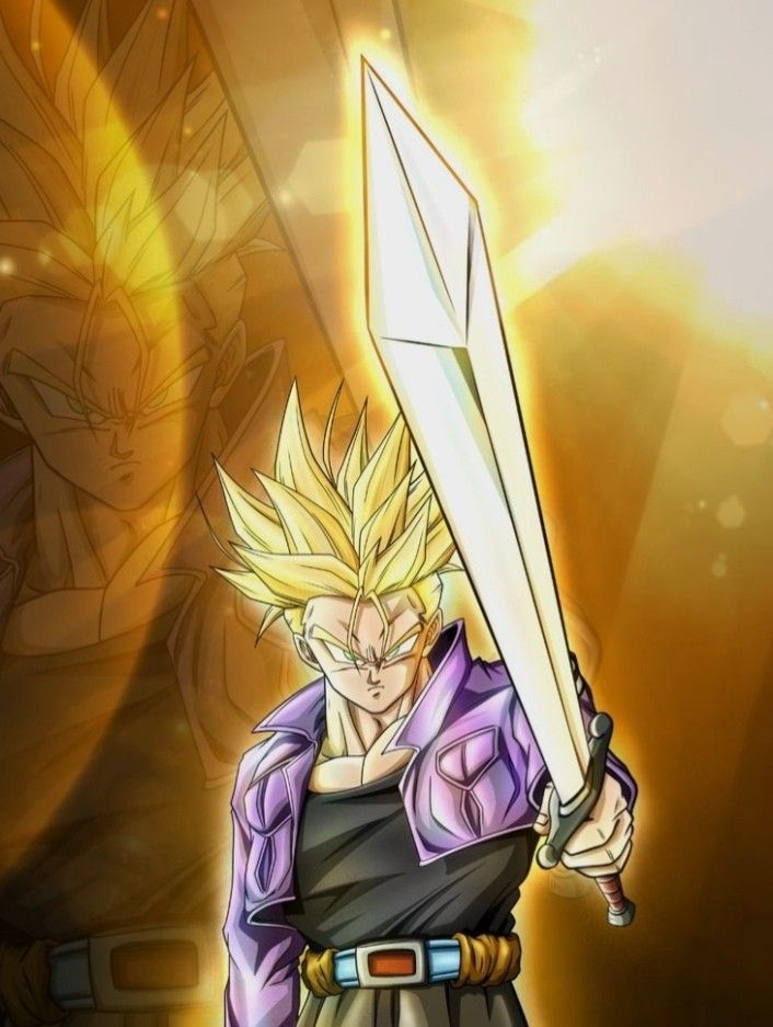 Trunks SSayajin 🔥