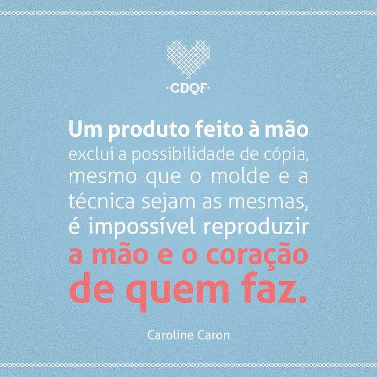 Confira o post completo no blog do CDQF