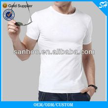 Fashion Slim Fit Cotton Blank White T Shirt For Men  best buy follow this link http://shopingayo.space