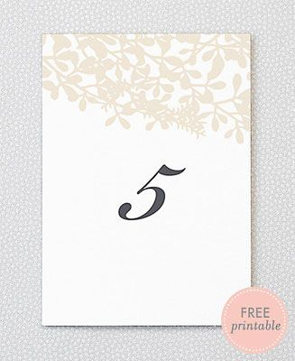 22 best wedding stuff images on pinterest wedding stuff free free printable wedding table numbers free wedding table numbers from hello lucky junglespirit Image collections