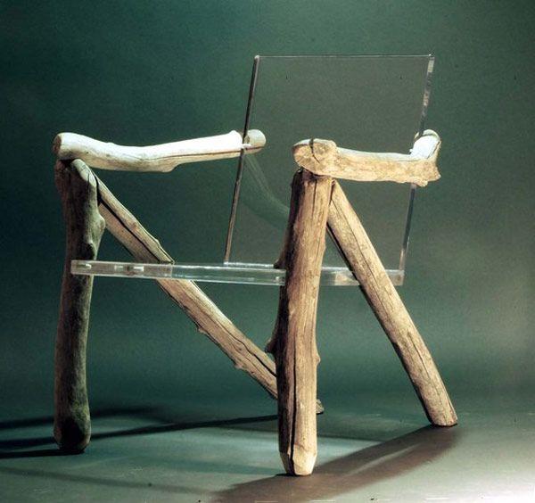 10 einzigartige Paarungen von Materialien rotieren um Holz