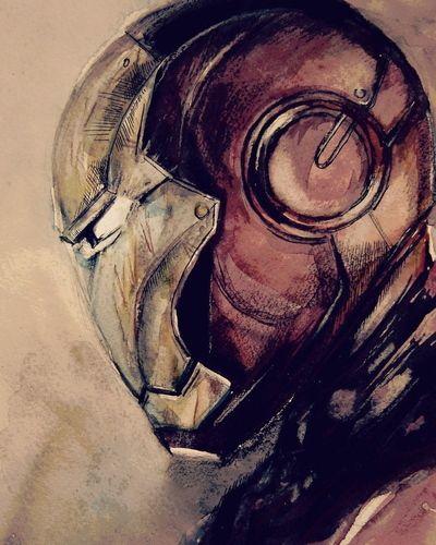 Iron Man, Art. Starting at $1 on Tophatter.com!