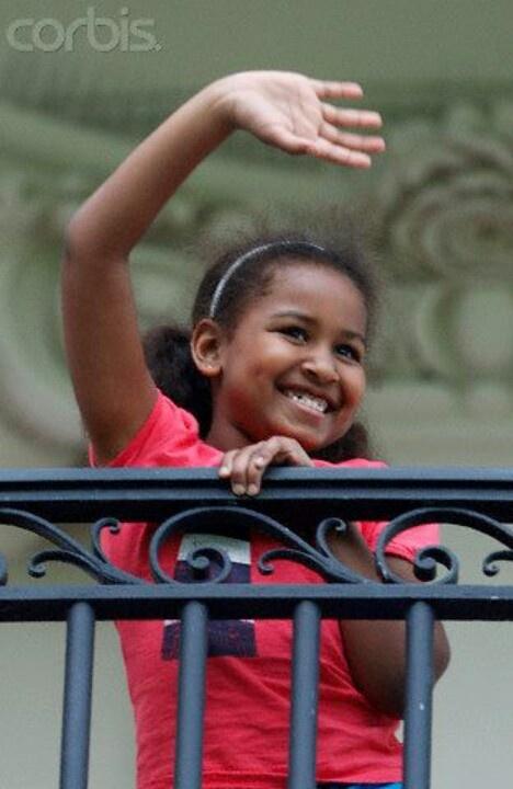 1st Daughter Sasha Obama.... Early Years....