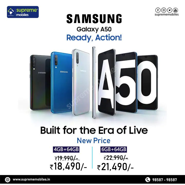 Samsung A50 Samsung Mobile Gadgets Feature Phone