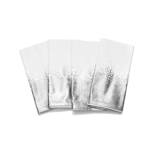 Ombre Napkin Set in Silver #tableware #homedecor #napkinset