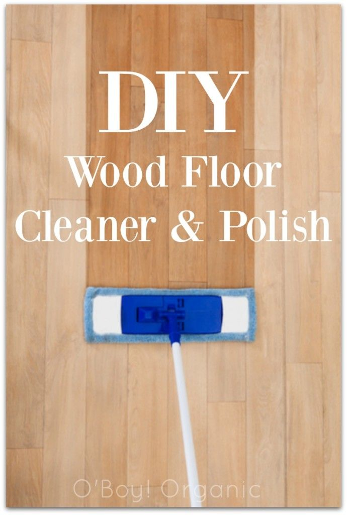 This DIY Wood Floor Cleaner & Polish cleans your home without using harsh chemicals using ingredients you have in your own home.