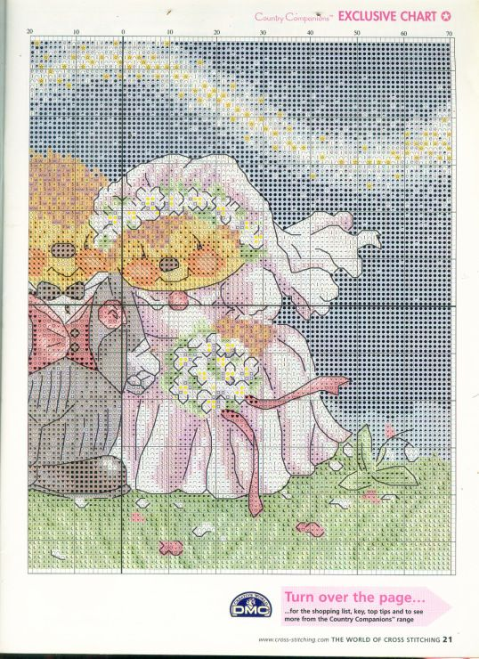 Gallery.ru / Фото #18 - The world of cross stitching 085 июнь 2004 - tymannost