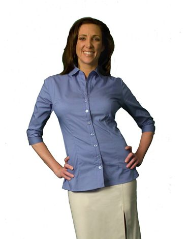 AJ Rumina, Custom Clothing For The Large Chested Lady, Professional  Blouses, T-
