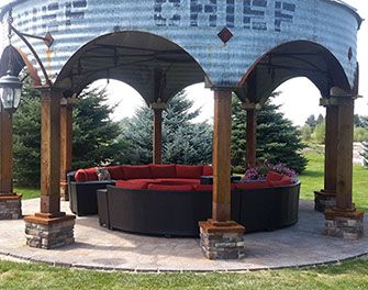 Image result for grain bin bar  – Container House Ideas