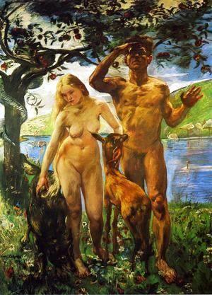 Paradise, 1911-12  Lovis (Franz Heinrich Louis) Corinth