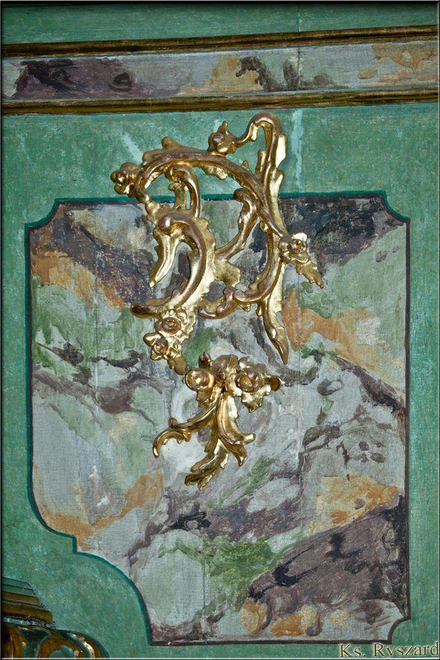 Fragment dekoracji.