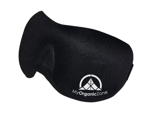 Sleeping Mask with Ear Plugs and Carrying Pouch is Ultra Light Weight, Comfortable, and Extremely Breathable for Sleep Deprivation. My Organic Zone makes the best eye-mask for sleeping. our Sleeping mask is a soft sleeping mask that helps with sleep-deprivation, that is fully contoured and padded.No Light penetrates through our Sleeping Mask.Designed for everyday usage. Despite being folded, the mask does not lose its shape.