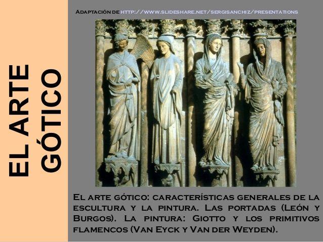 Resultado de imagen para arte gotico escultura caracteristicas