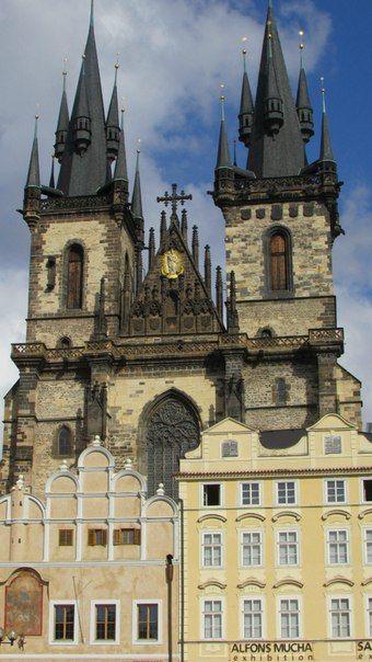 Прага. Тынский храм.