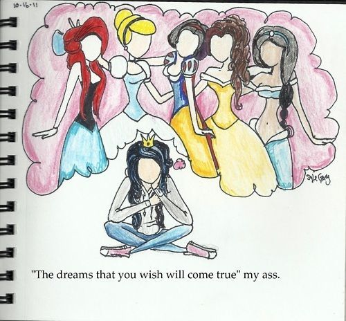 I like the drawing not so much the tag line: Drawings Art, Art Inspiration, Disney Princesses, Art Journals 1, Art Journals Smashbook Alt, Art Journals1, Book Inspiration, Notebooks Inspiration, To Drawings