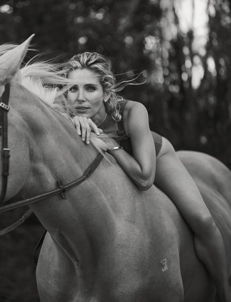 ELLE Australia February 2018 Elsa Pataky by Georges Antoni