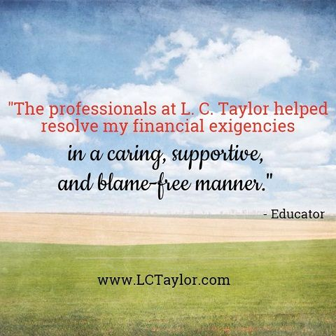 Testimonial from an educator. http://lctaylor.com/about/testimonials/