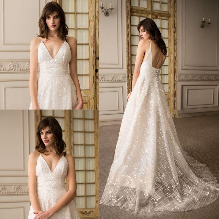 Vestido de novia con brillos · Brightness Wedding Dresses